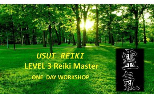 Level 3 Reiki Master Workshop