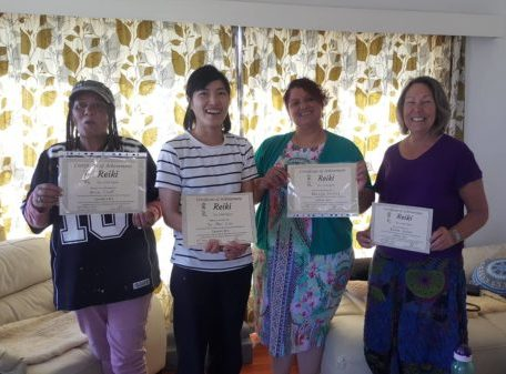 Reiki Training Graduates