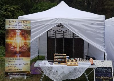 Healing Stand at Spirit Festivals