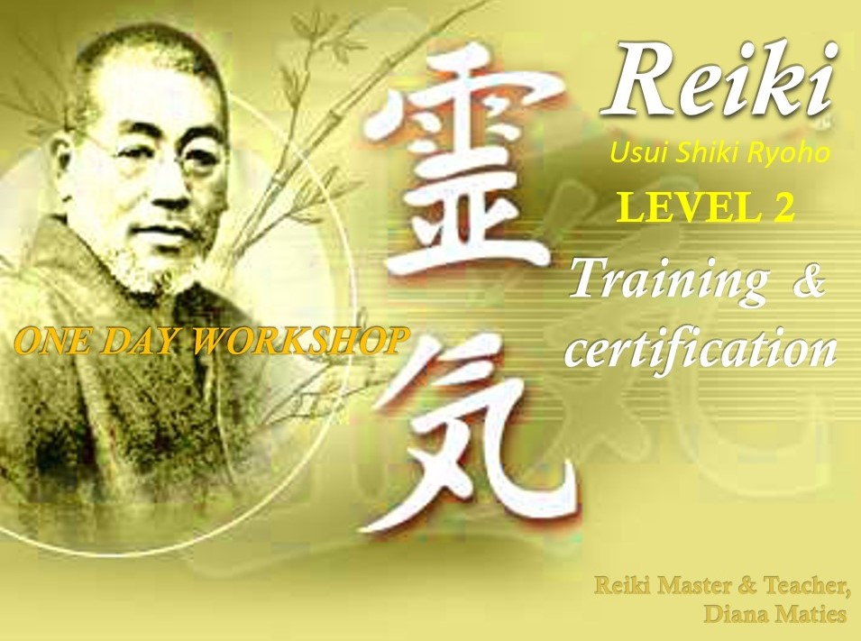 Reiki Training Level 2