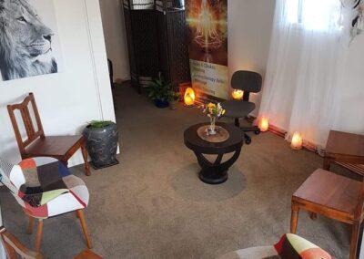 Reiki Training Room Circle