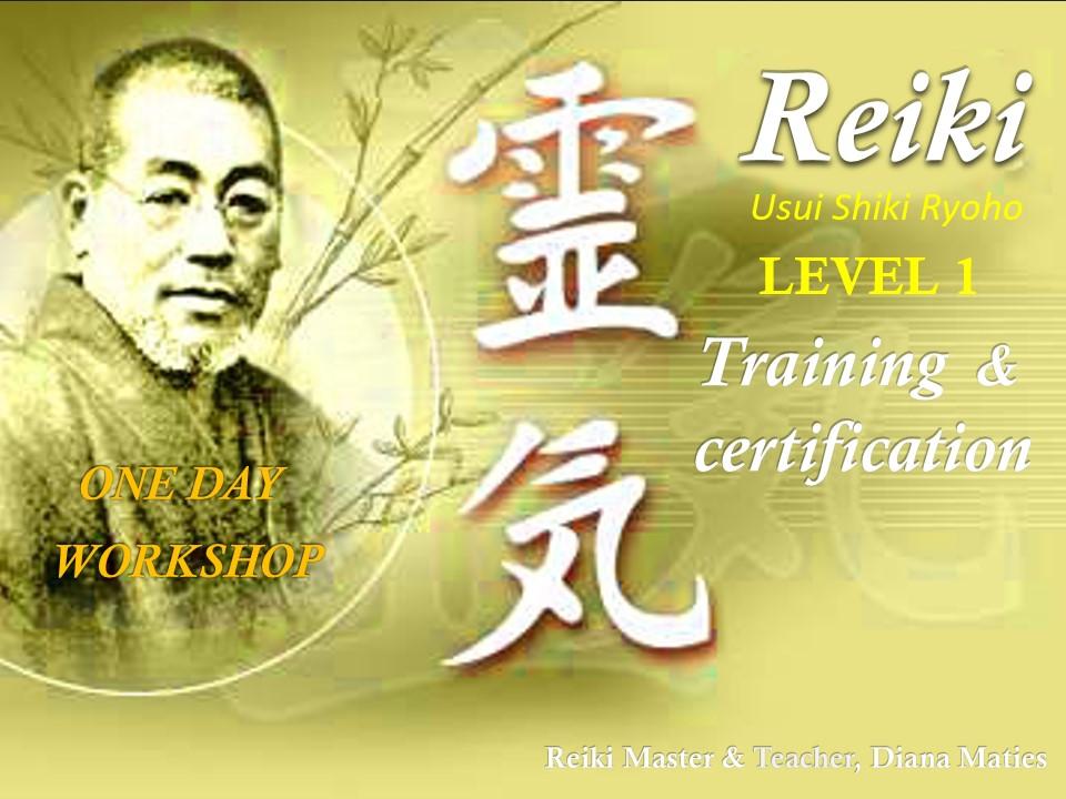 Reiki Training Announcement
